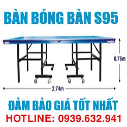 Bàn bóng bàn Bình Minh S95 giá tốt nhất